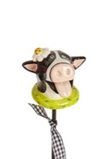 Happy Cow Plant Stake