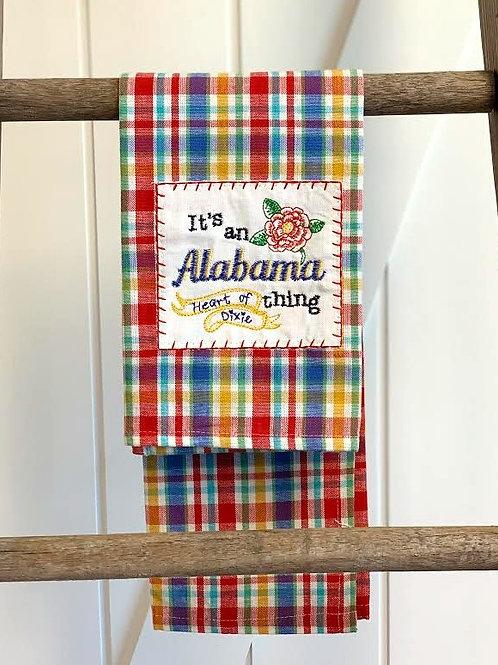 An Alabama Thing Tea Towel