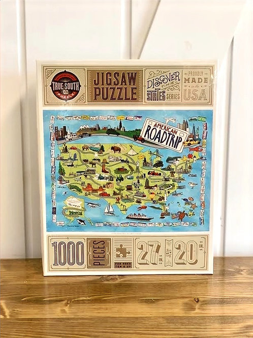 American Road Trip Puzzle