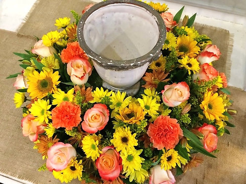 You Are My Sunshine Memorial Wreath