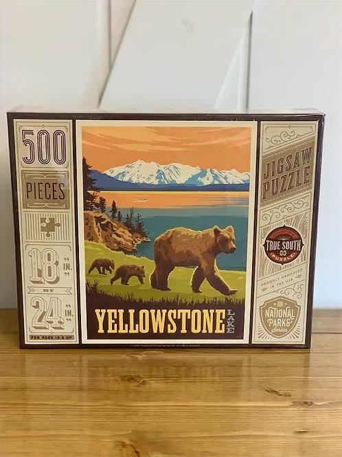 Yellowstone Lake  Puzzle