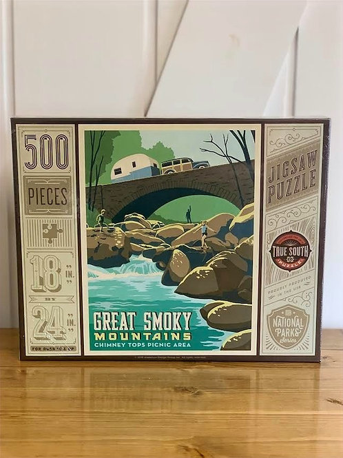 Great Smokey Mountains Puzzle