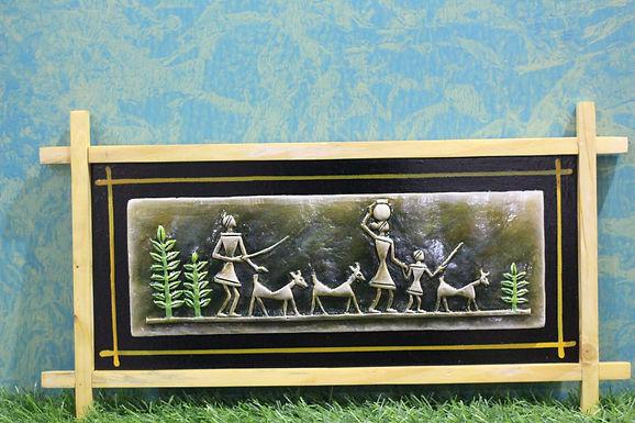 Terracotta 3D Tribal Scenery