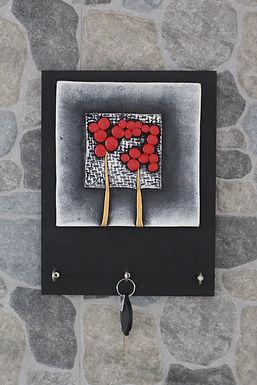 Terracotta 3D Icy Window Key Hanger