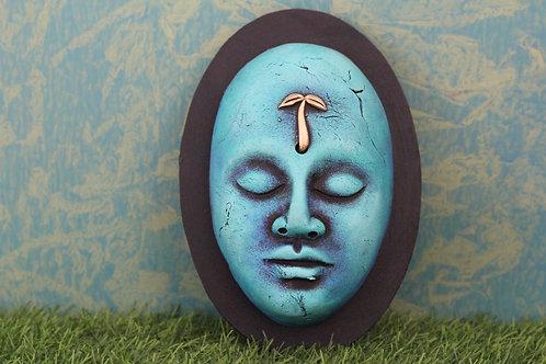 Egyptian 3D Terracotta  Face Mask