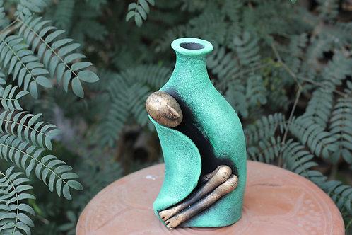 Terracotta Sleeping Beauty Vase