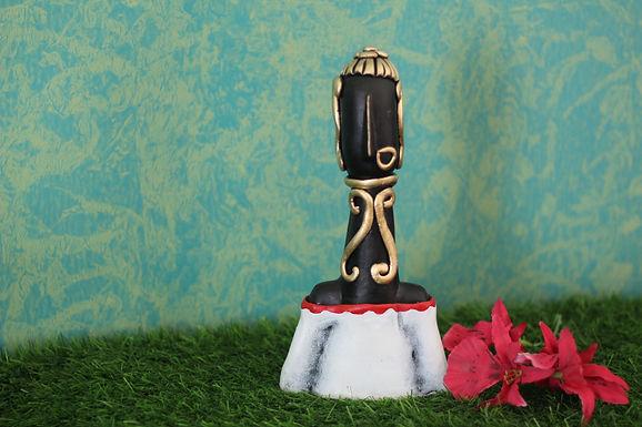 White Top Terracotta Decorative Doll