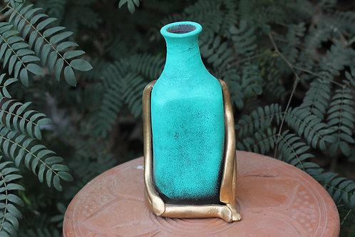 Terracotta Figurine Vase