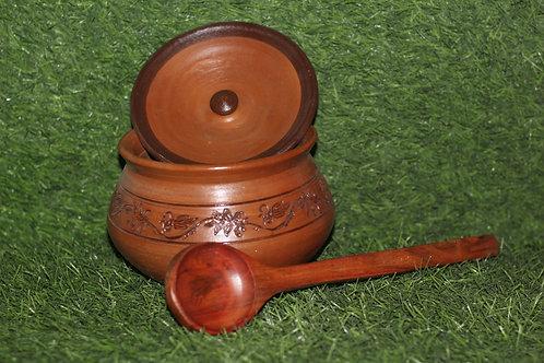 Earthen Terracotta Cooking Pot