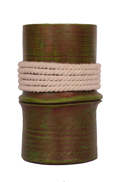 Terracotta Bamboo Planter
