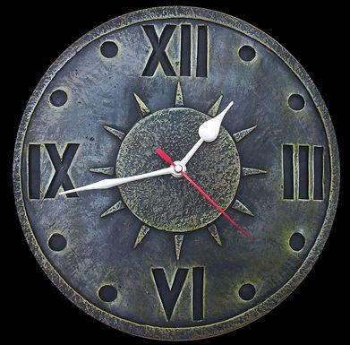 Terracotta 3D  Rising Sun Clock