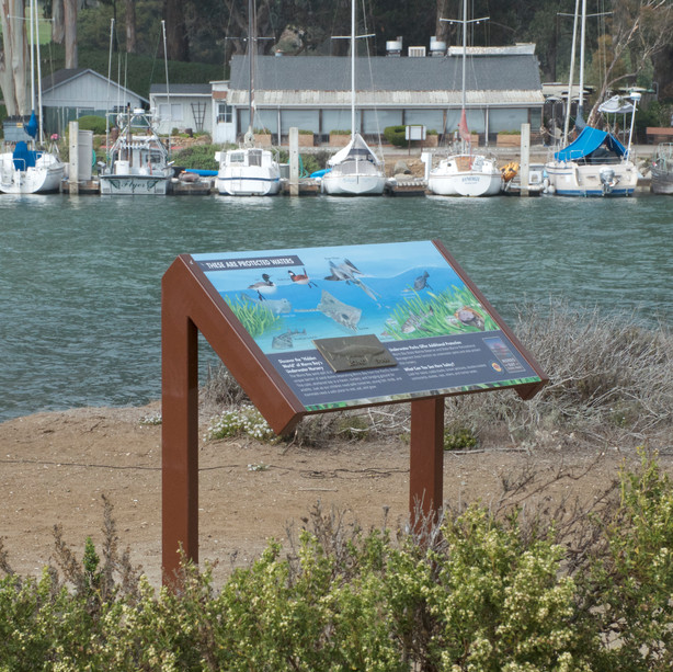 Interpretive Panel, Morro Bay, CA