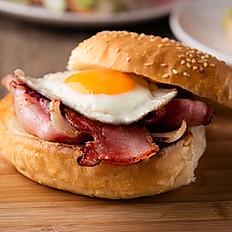 Bacon egg roll