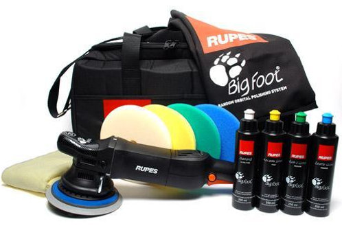 RUPES BigFoot LHR15 MKIII Polisher Deluxe Package
