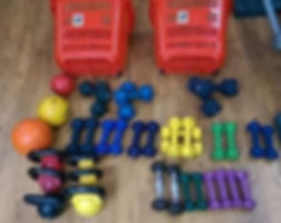 Typical Exercise Kit for Circuits 700px