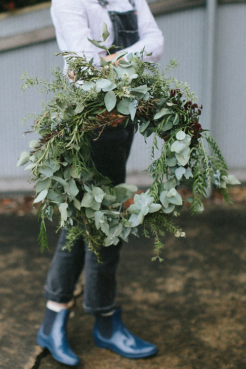 FRESH CHRISTMAS WREATHS from