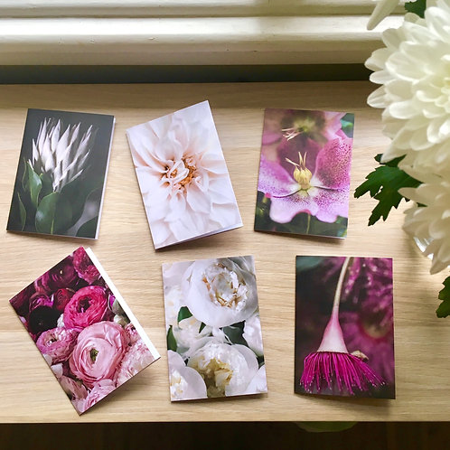 FLORAL GREETING CARD PACKS (Blank) from