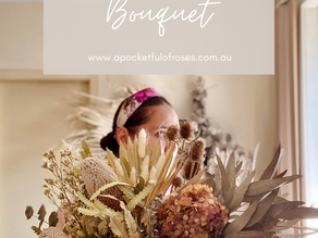 How to make a Dried Flower or Everlasting Bouquet