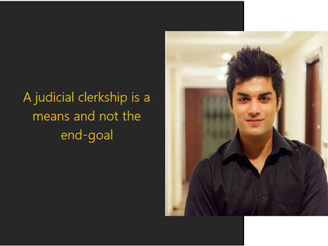 Judicial Law Clerkship: The Work and Prospects