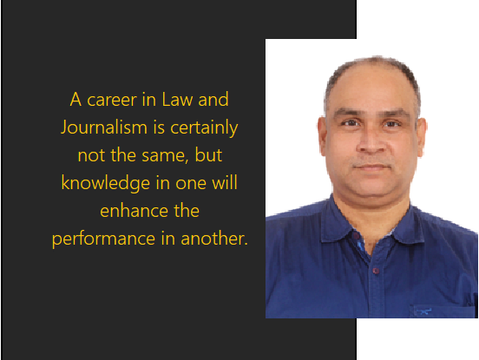 Journalism after Law- Exploring the Niche