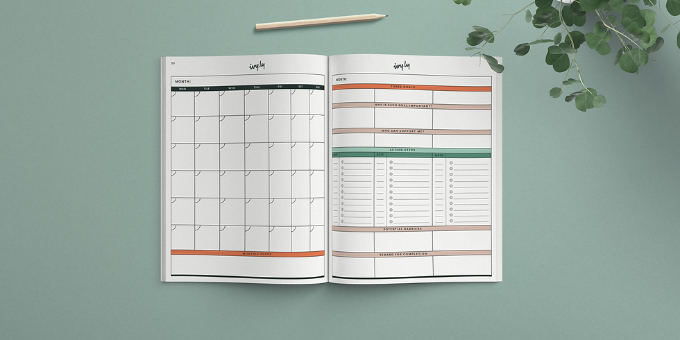 Weekly Planning: End of Month Review