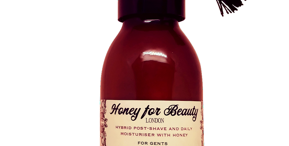 Hybrid Post-Shave and Moisturiser with honey for Gents