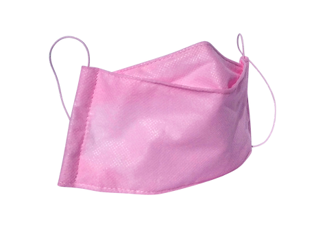 medium size face covering made of waterproof medical grade fabric