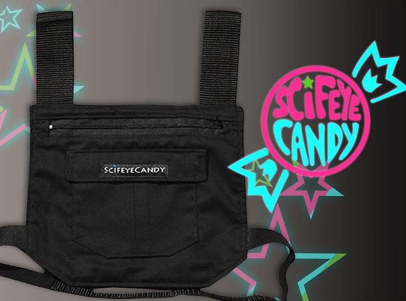Basic Black Leg Bag 1.0 by SciFeyeCandy