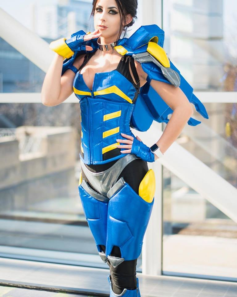 Zombae as Pharah