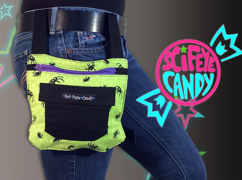 Atomic Spider Leg Bag 1.0 by SciFeyeCandy