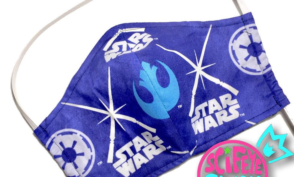 Glow in the Dark Rebel vs Empire Dust Mask