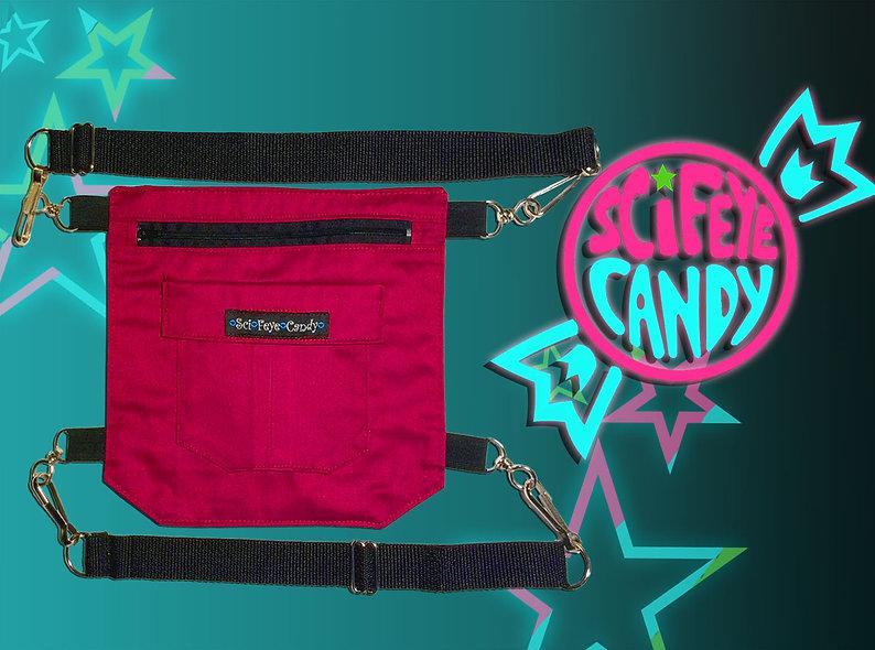Hot Pink Leg Bag 2.0