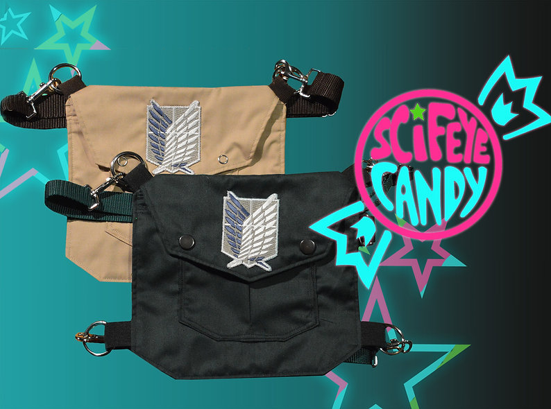 Limited Edition Attack on Leg Bag 2.0