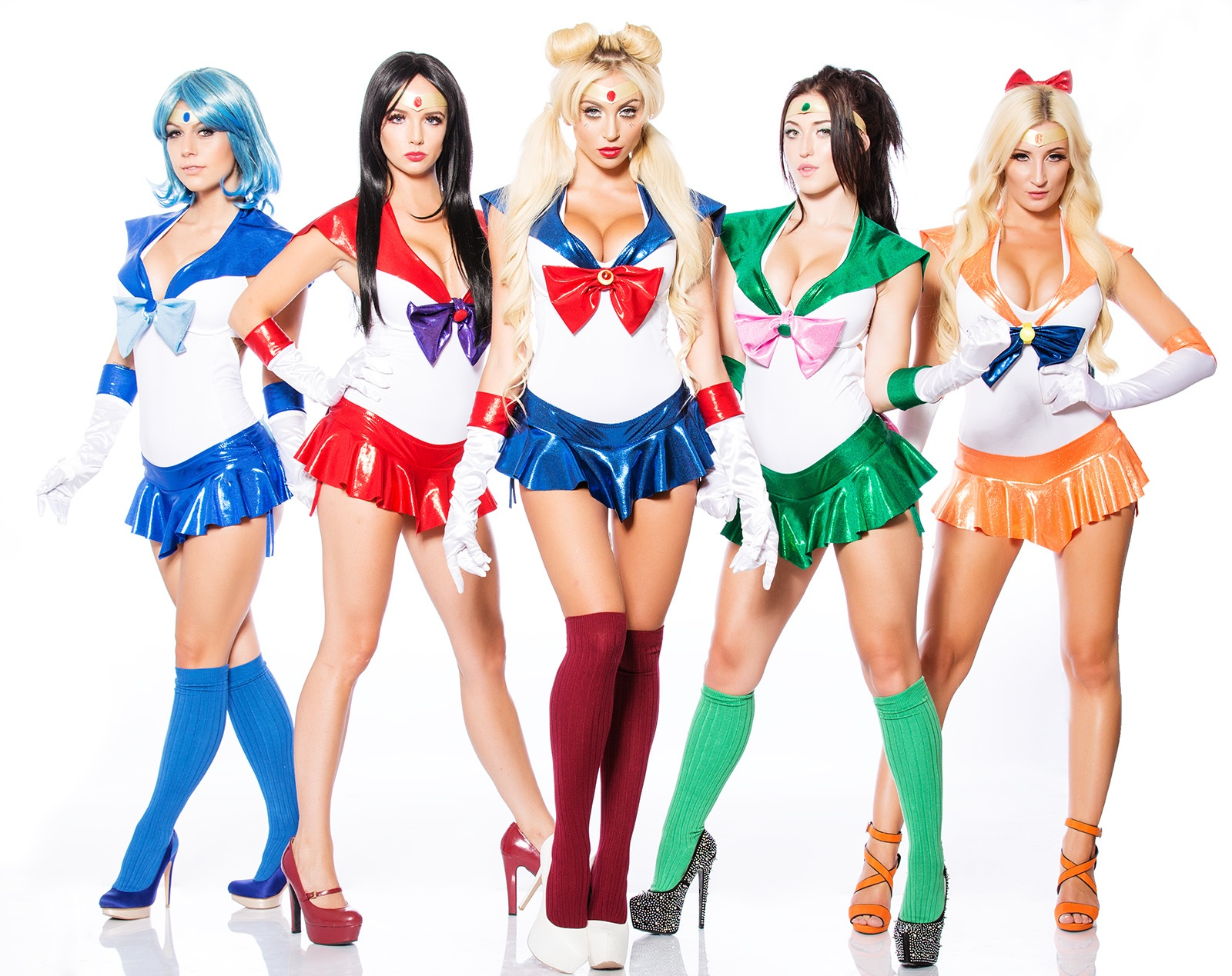 Sailor Scout Bikinis by SciFeyeCandy