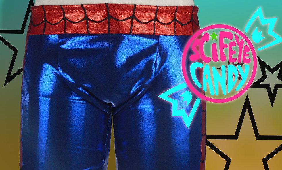 Avenger Web-Head Swim Trunks by SciFeyeCandy