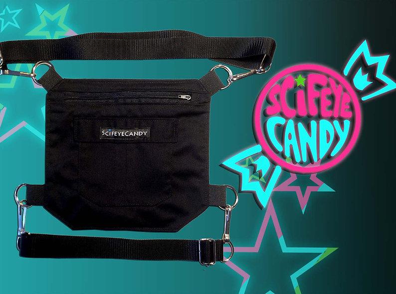 Black Cordera Leg Bag 2.0