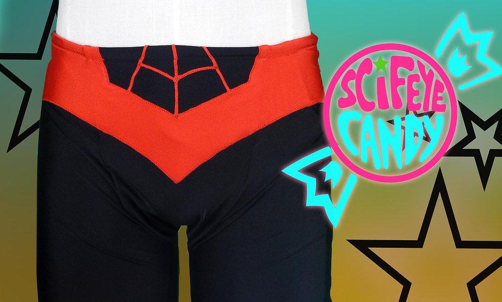 Spider Miles Swim trunks by ScifeyeCandy