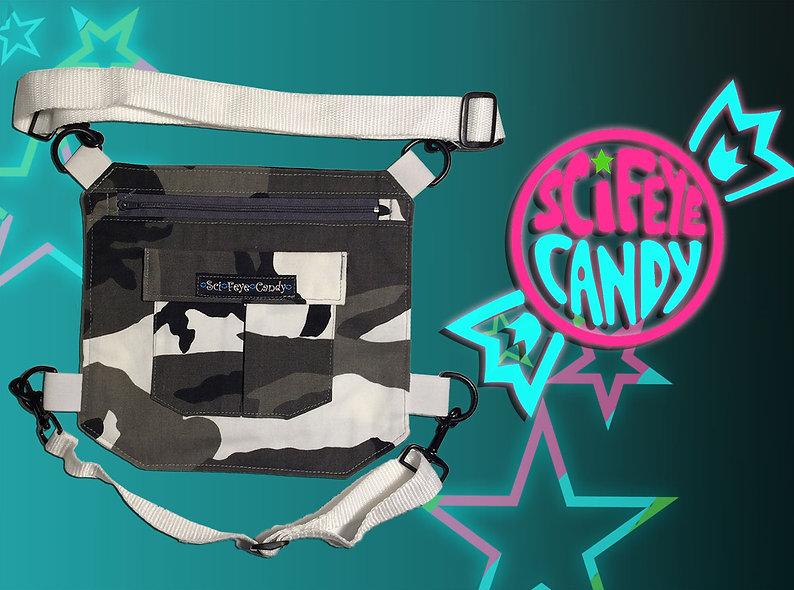 Winter Camo Leg Bag 2.0