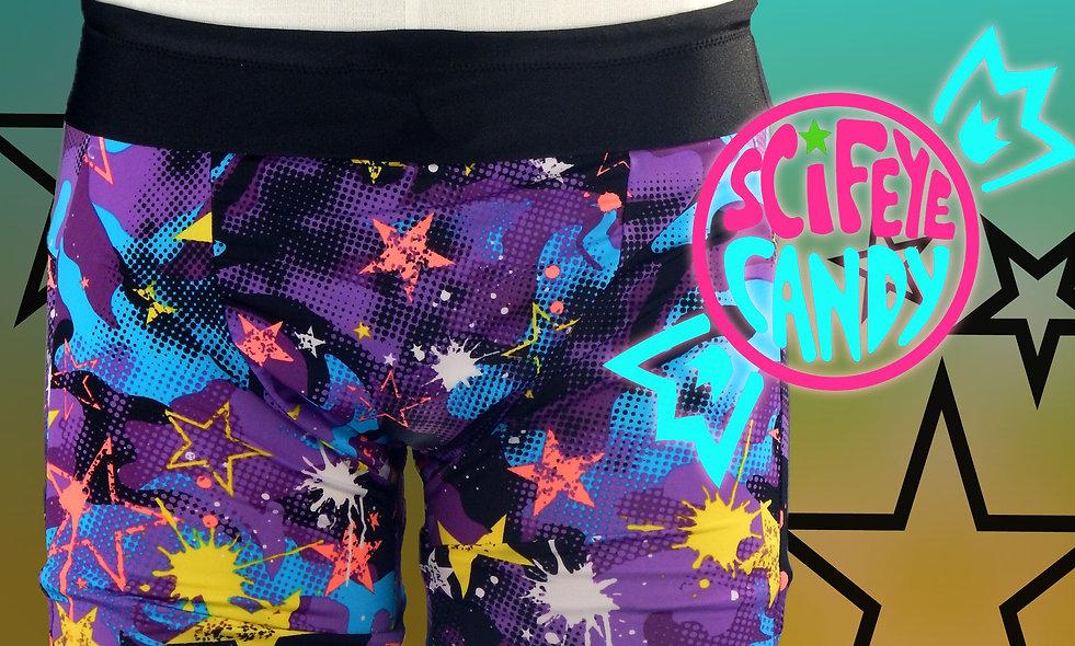 Star Camo Swim Trunks by ScifeyeCandy