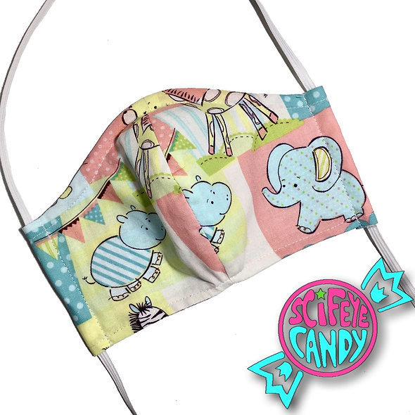 Kawaii Zoo Friends Cloth Dust Mask