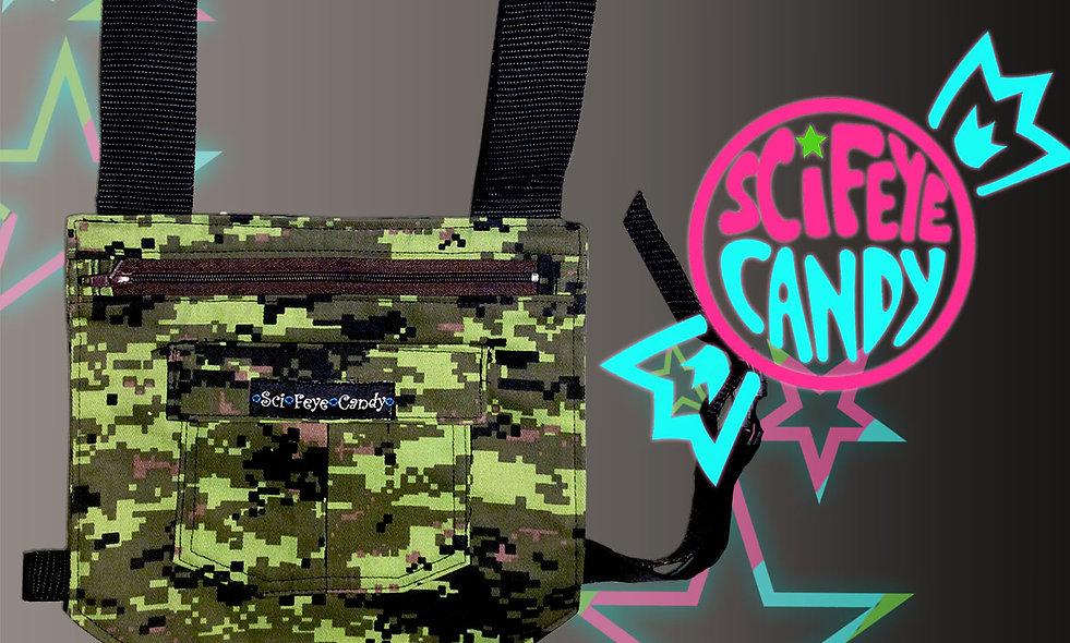 Pixel Camo Leg Bag 1.0 by SciFeyeCandy