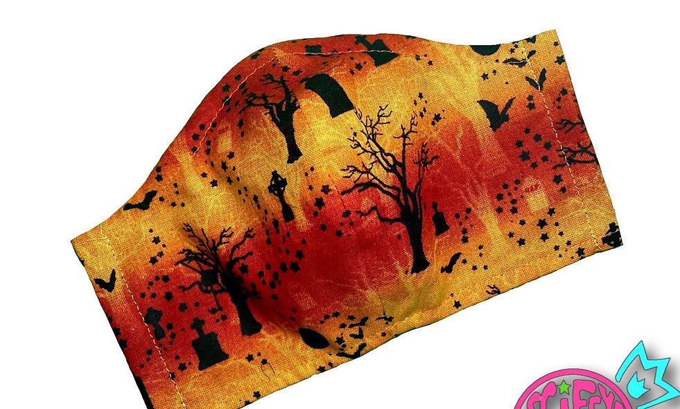 Cemetery Dawn Cloth Dust Mask