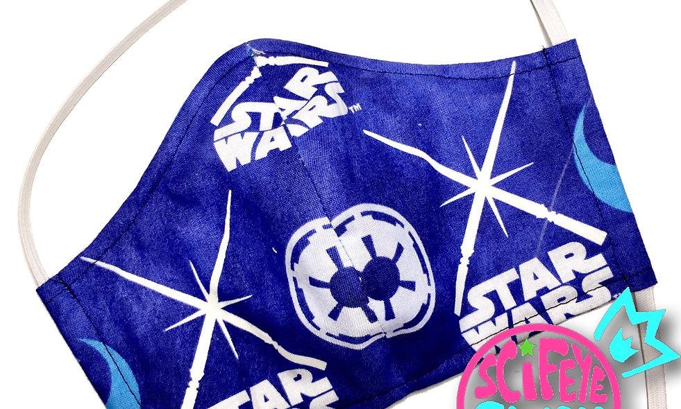 Glow in the Dark Rebel vs Empire Dust Mask (Large)