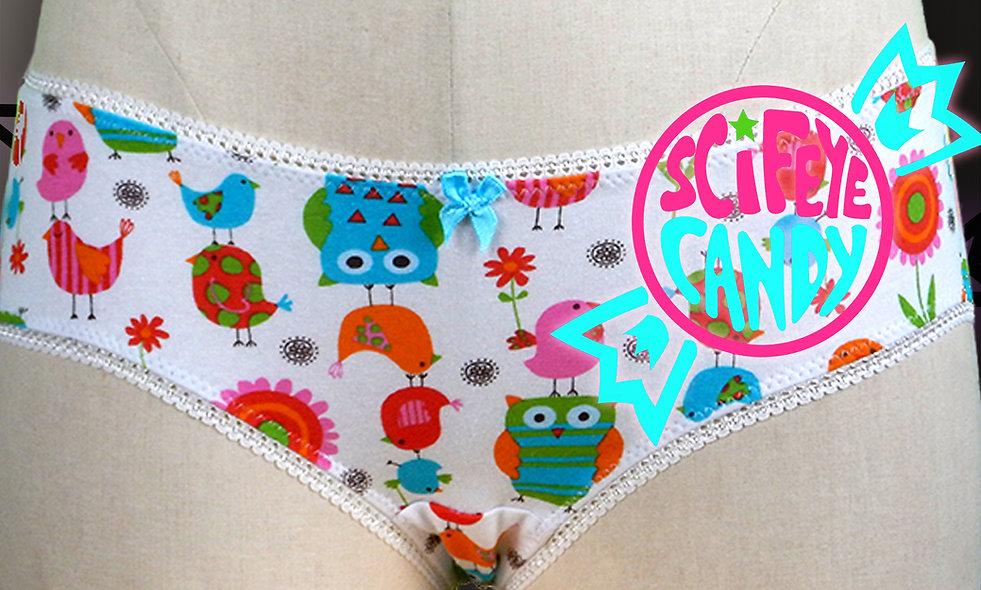 Trippy Owl Panties by SciFeyeCandy