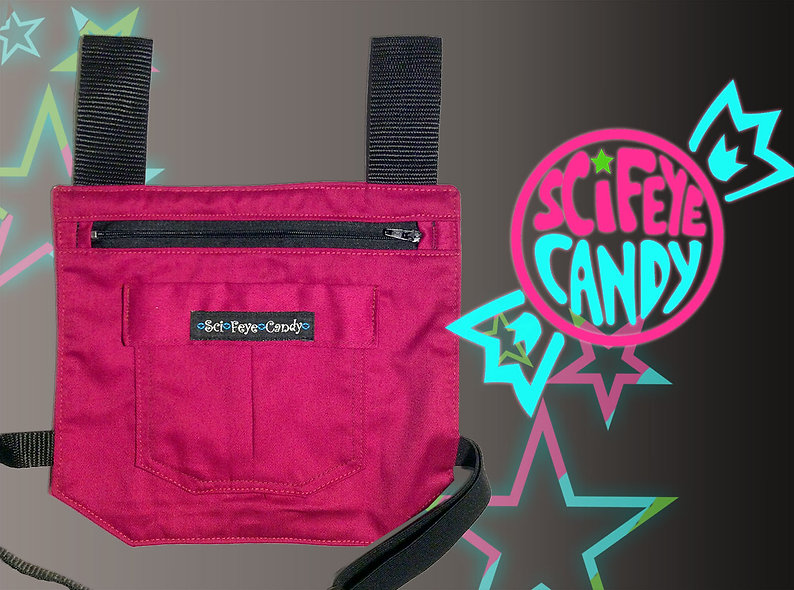 Hot Pink Leg Bag 1.0