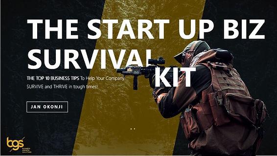 The start up biz survival kit