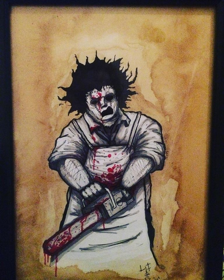 Framed horror icons for sale