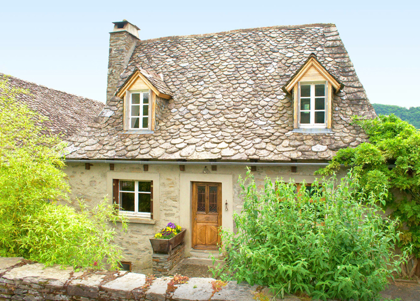 19th-century stone cottage