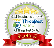 All Things Pest Control Mackay Best Business of 2021 award