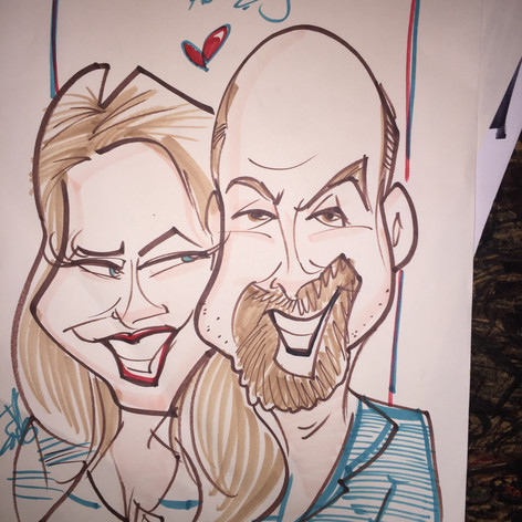 Live Caricature Sample